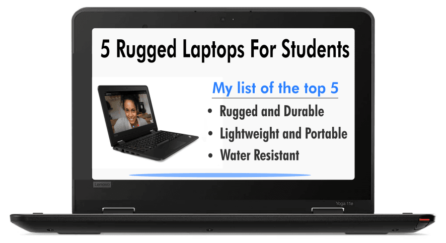 5 Rugged Laptops For Students