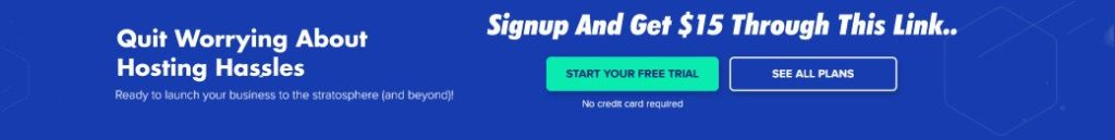Cloudways Signup Referral